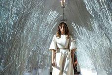 La excesiva decoración navideña de la Casa Blanca de Melania