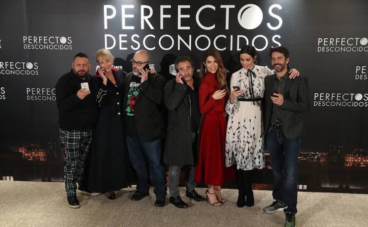 Fotos de la premiere de 'Perfectos desconocidos', una película de Álex de la Iglesia