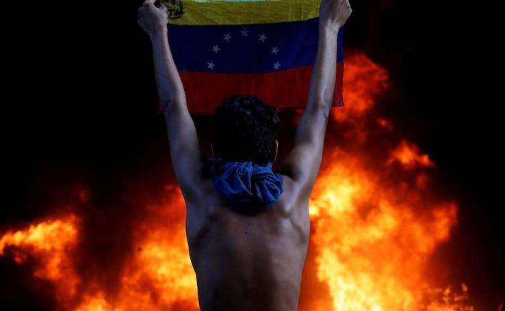 La crisis de Venezuela en imágenes