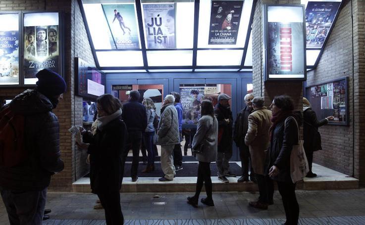 La última sesión de los cines Aragón