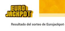 Comprobar el Eurojackpot del viernes 15 de junio