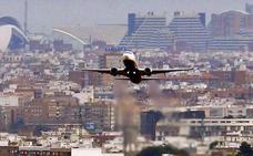 El viento impide la llegada a Valencia de seis vuelos internacionales