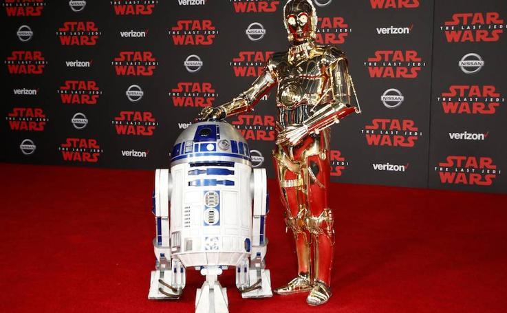 Fotos de la premiere de 'Star Wars'