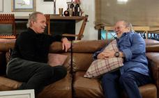 Bertín Osborne y Arévalo firman la paz en 'Mi casa es la tuya'