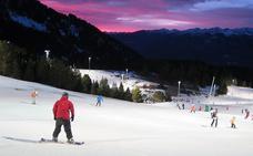 Esquí más allá del sol