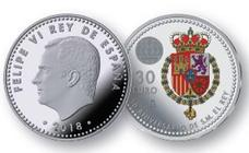 Felipe pone color a los euros