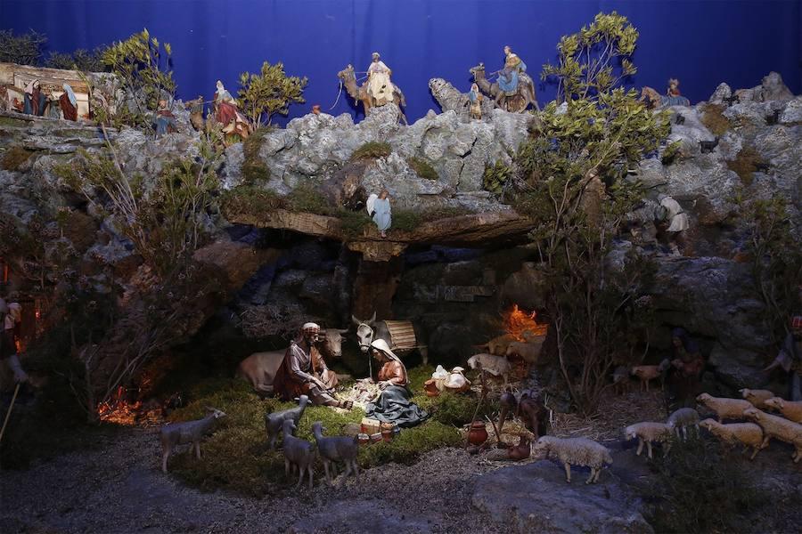 Fotos del Belén de las religiosas de San José de la Montaña de Valencia