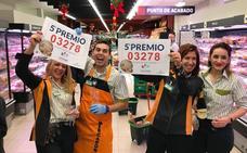 Alegría para los trabajadores del Mercadona 3.278: «6.000 eurillos no son como para quejarse»