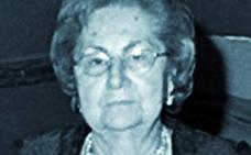 Muere Josefa Terencio Ferrer, refundadora de la Hermandad del Ecce-Homo del Cabanyal