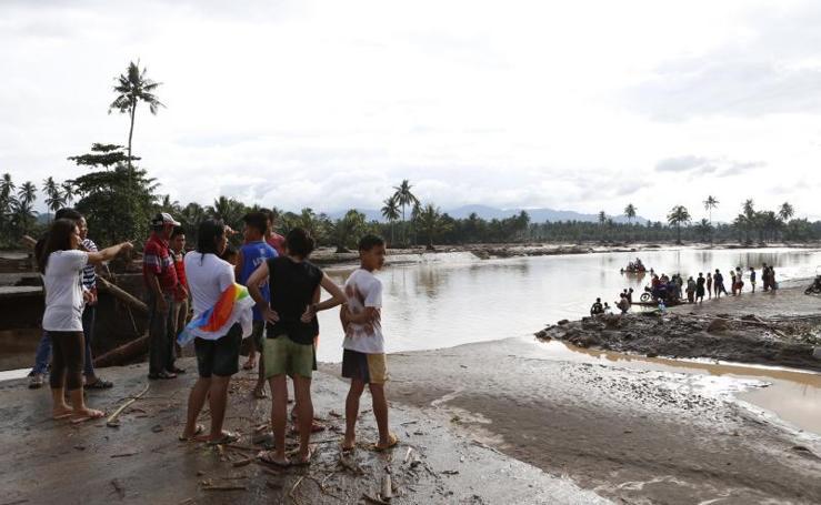 Una tormenta tropical deja más de 130 muertos en Filipinas