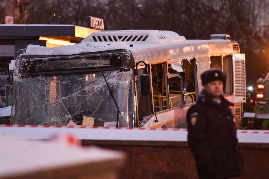 Fotos del atropello en Moscú