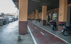 Nuevo trazado del carril bici en la avenida Blasco Ibáñez de Valencia