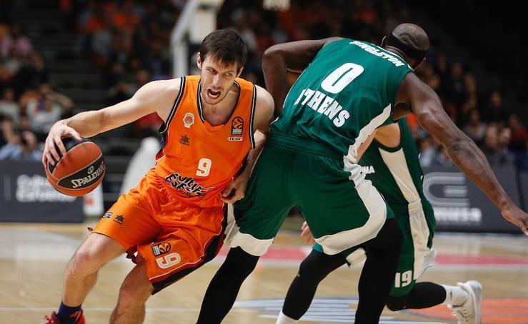Fotos del partido de Euroliga entre el Valencia Basket - Panathinaikos (28 de diciembre de 2017)