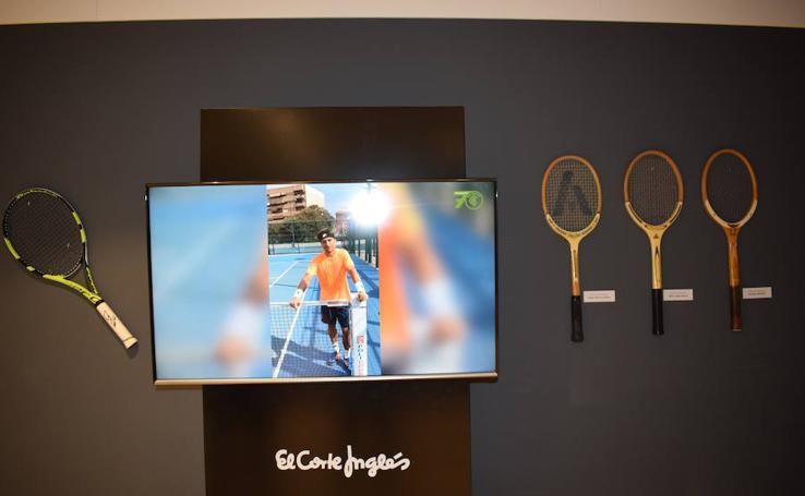 Fotos de la exposición por el 70 aniversario del Club Español de Tenis