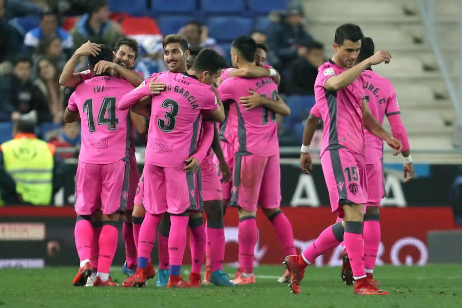 Fotos del Espanyol-Levante en Copa