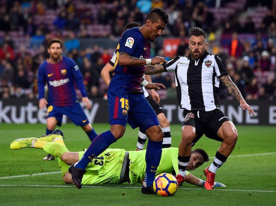 Fotos del FC Barcelona-Levante UD