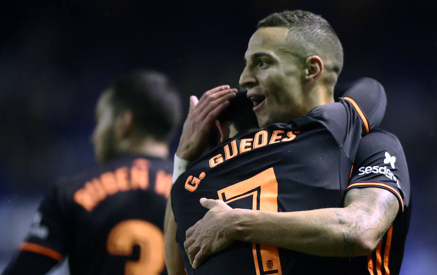 Fotos del Deportivo-Valencia
