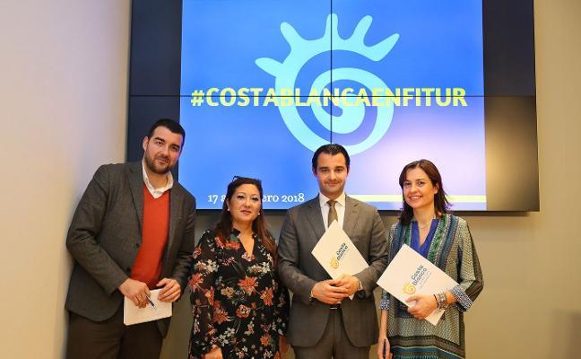 Costa Blanca apuesta en Fitur por la gastronomía, la cultura y las fiestas