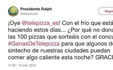 Cómo un tuit desencadenó una donación masiva de pizzas gratuitas para personas sin hogar