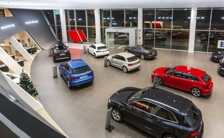 Audi Valencia estrena el mayor edificio 'Terminal' en España