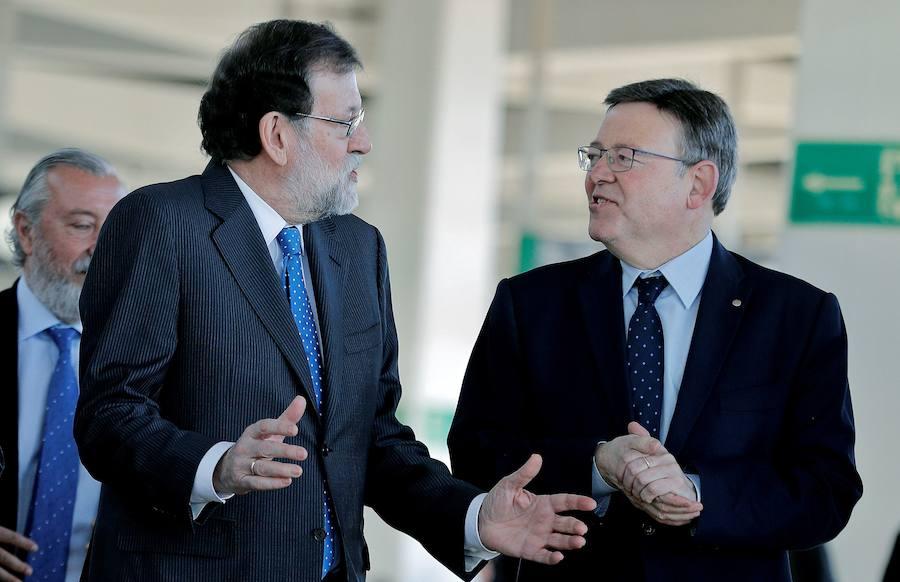 Fotos de Rajoy en Castellón