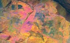 Hallan en Castellón dos yacimientos con pinturas rupestres de hace 7.000 años