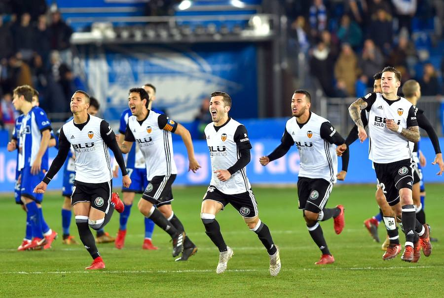 Fotos del Alavés-Valencia en Copa del Rey