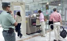 ¿Dónde van a parar los artículos requisados en el aeropuerto de Valencia?