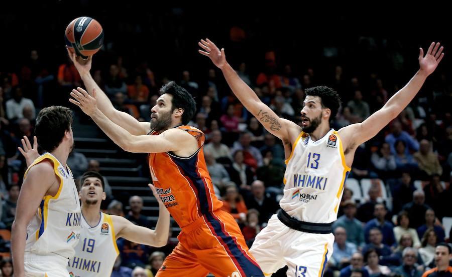 Fotos del Valencia Basket-Khimki Moscow