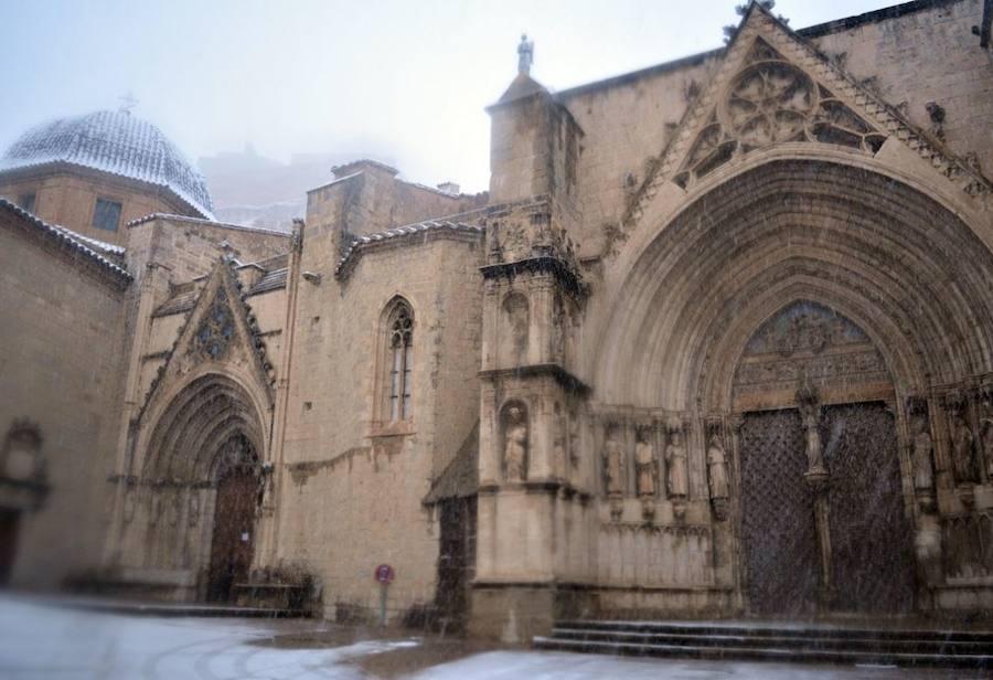 Fotos de nieve en Morella, Castellfort, Ares y Vilafranca del Cid