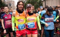 Natacha López gana el maratón de Murcia
