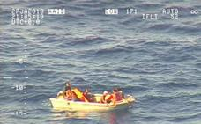 Encuentran a siete supervivientes del ferri naufragado en el Pacífico
