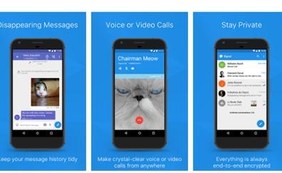 Así es la 'app' donde Puigdemont 'escondía' sus mensajes