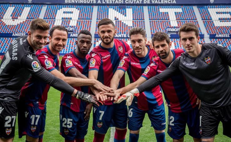 Fotos de los nuevos jugadores y el entrenamiento del Levante UD