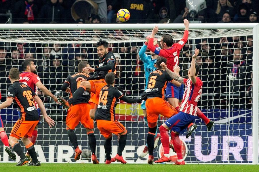 Fotos del Atlético de Madrid-Valencia CF
