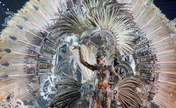 La Gala de elección de la Reina del Carnaval de Santa Cruz de Tenerife 2018. en imágenes