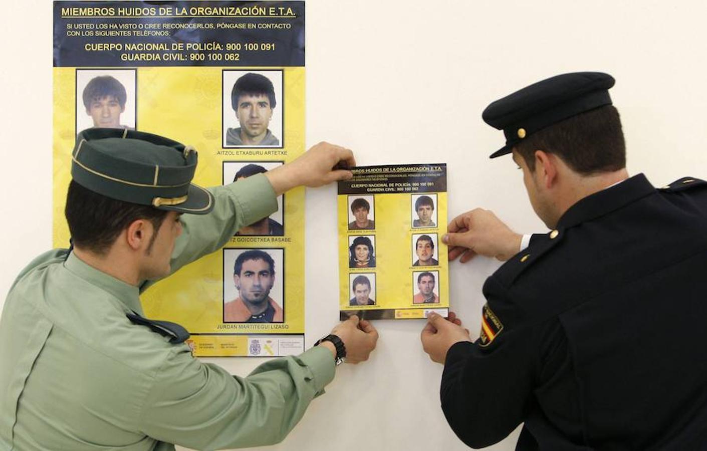 Fotos de los fugitivos más buscados