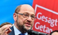 Schulz no asumirá la cartera de Exteriores en el Gobierno de coalición alemán