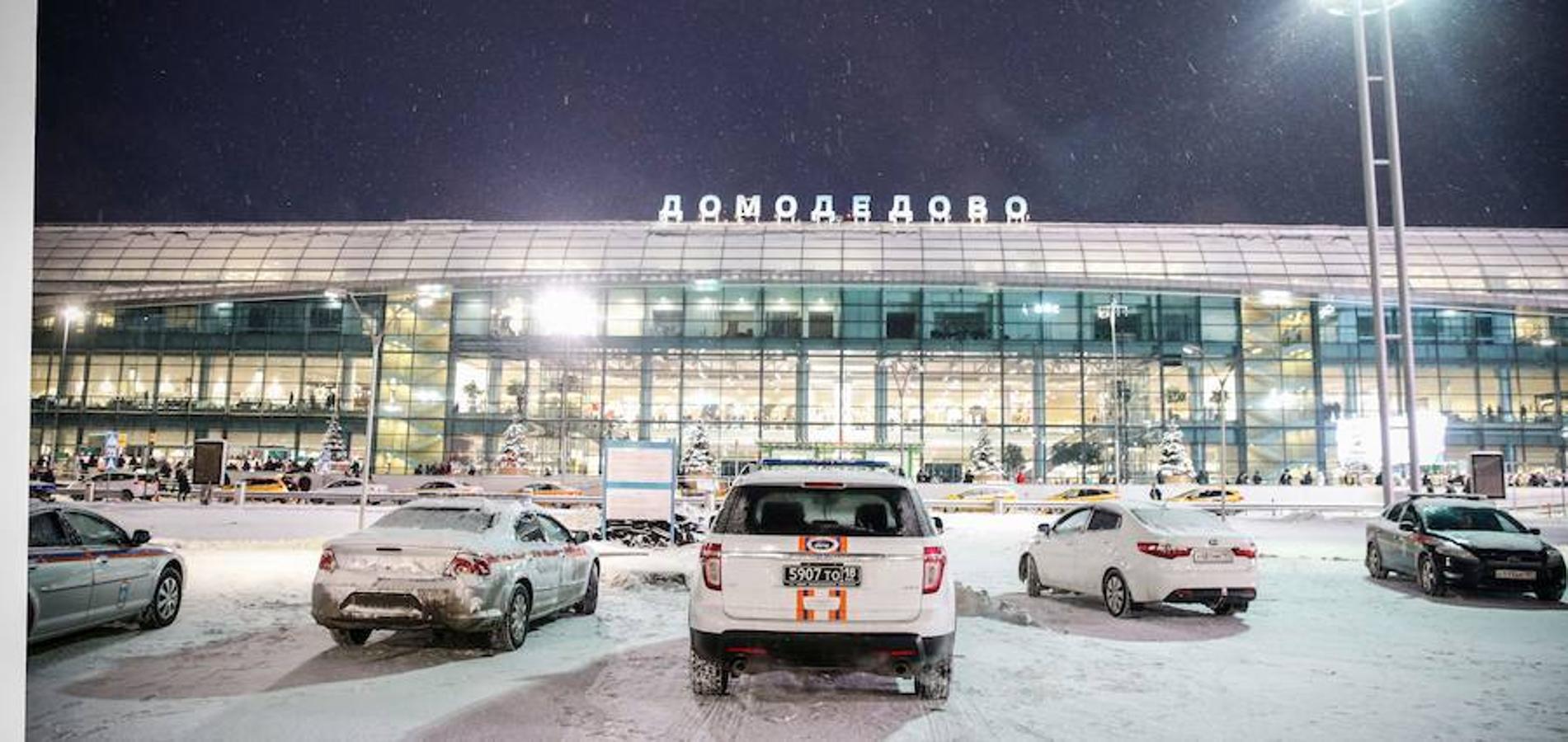 Fotos del accidente aéreo en Moscú