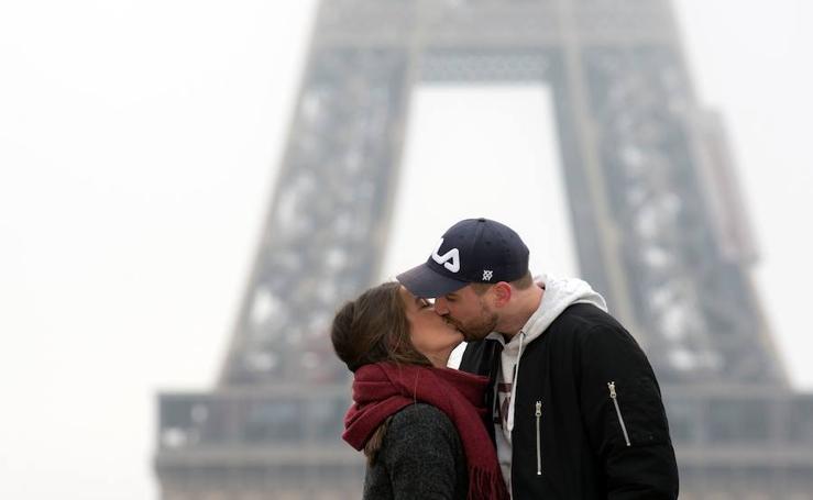 El mundo se rinde al amor por San Valentín