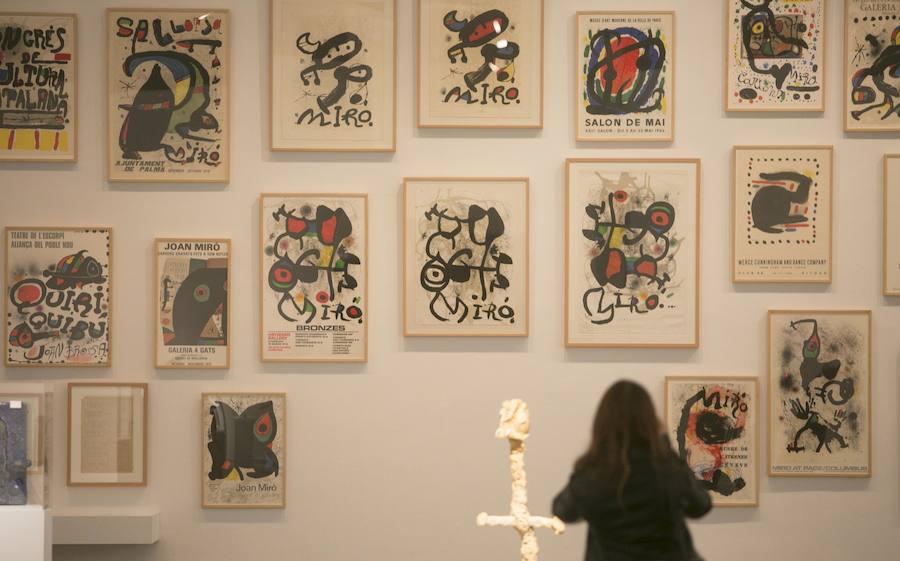 El Miró más radical llega a Valencia