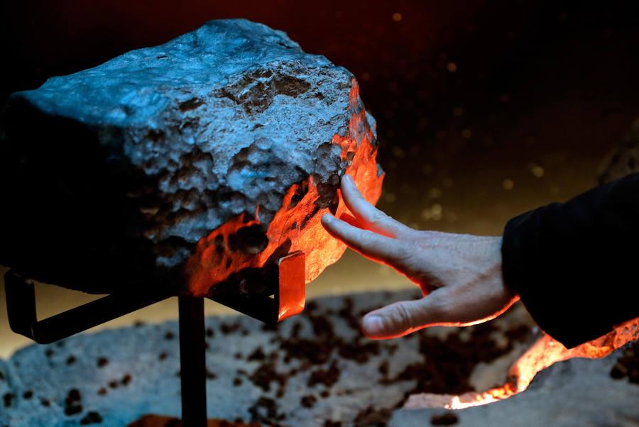 El meteorito de 33 kilos que puedes ver en Valencia