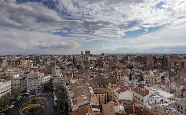 Valencia a vista de pájaro