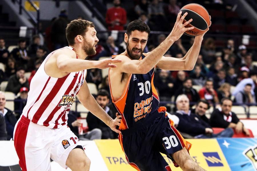 Fotos del partido Olympiacos - Valencia Basket de Euroliga