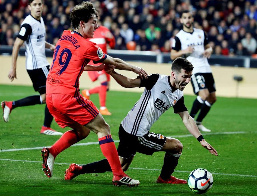 Fotos del Valencia CF-Real Sociedad