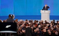 Putin amenaza al mundo con nuevas armas nucleares y le insta a «escuchar» a Rusia