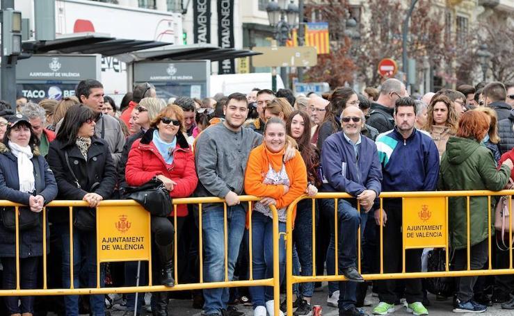 Búscate en la mascletà de hoy, 5 de marzo, de Nadal-Martí