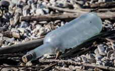 Encuentran el mensaje en una botella más antiguo del mundo