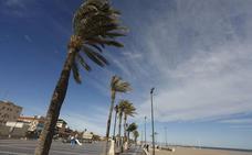 Temperaturas primaverales y vientos de 80 km/h este martes en la Comunitat