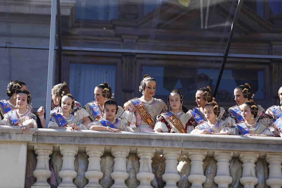 Fotos de la mascletà de Gironina en las Fallas de 2018
